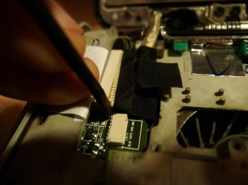 Remove FLAT LCD