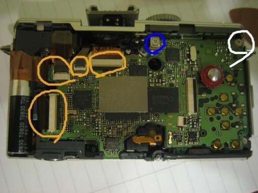 Lumix LX£ motherboard