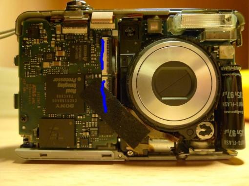 Cyber-shot W55 flat