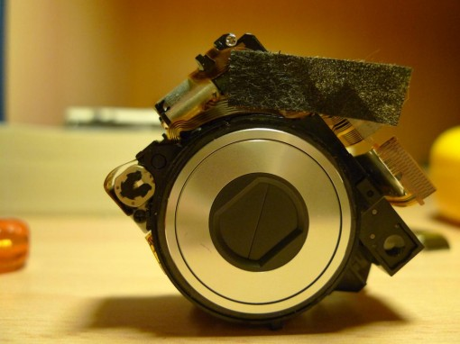 Cyber-Shot Optical parts