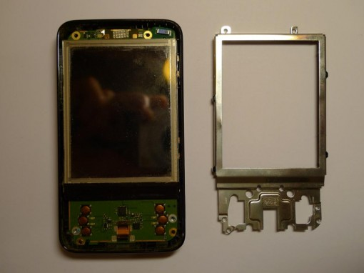 HTC P3470 Disassembling LCD