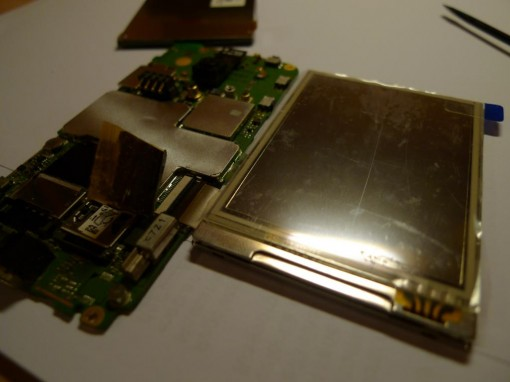 HTC P3470 LCD Disassembling