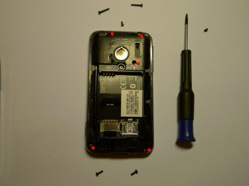 HTC Pharos Disassembling
