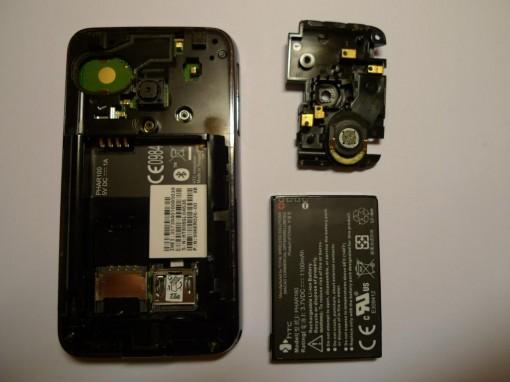 HTC Pharos disassembling
