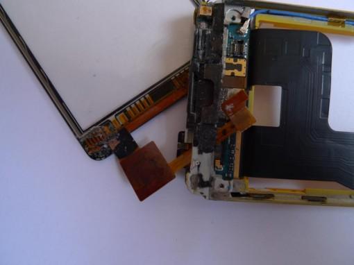 HTC HD Mini flat Touchscreen