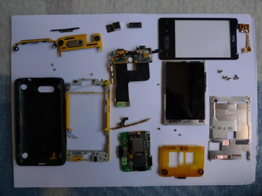 HTC HD Mini parts
