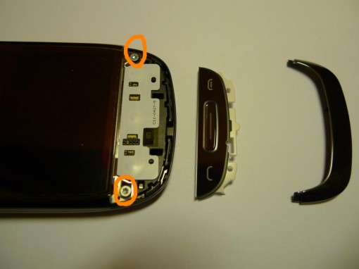 Nokia C7 smontaggio