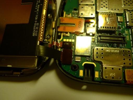 Nokia C7 Display Flat