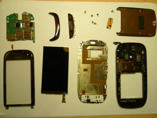 Nokia C7 Spare Parts