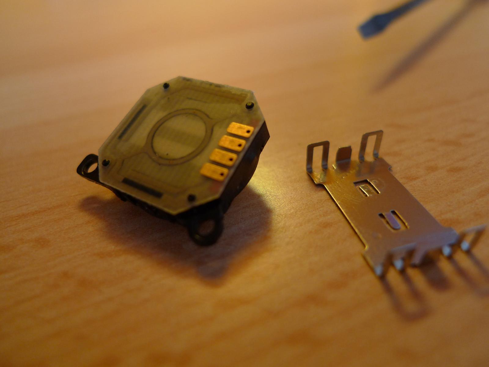 Black 3d analog button for psp 2000 joystick console stick repair.