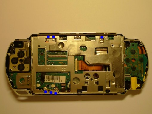 Sony PSP Fat disassembling
