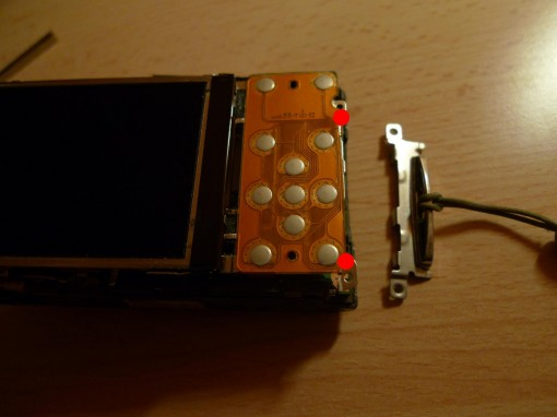 Nikon Coolpix S210 Disassembling
