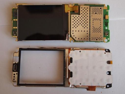Rimozione keypad Nokia C5
