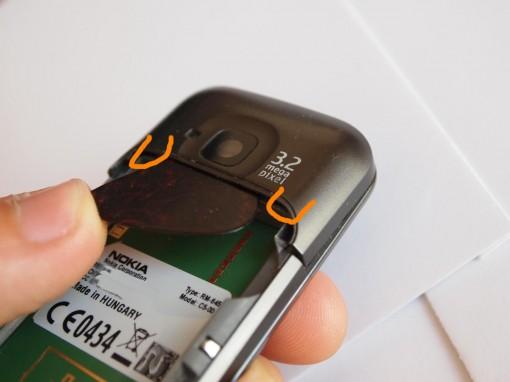 Disassembling Nokia C5