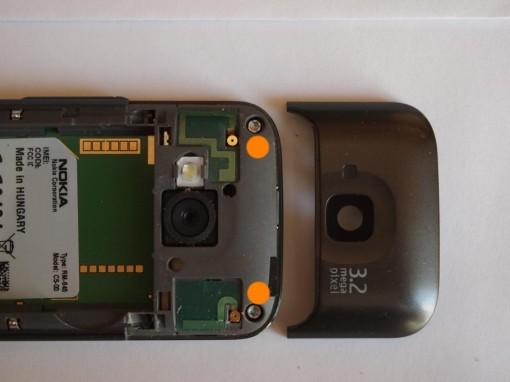 Nokia C5 Viti Torx Cover