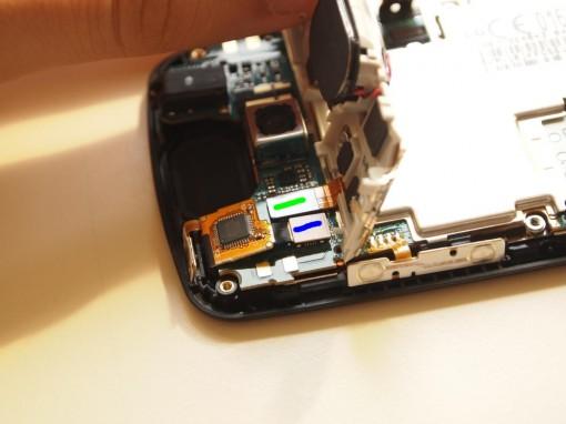 LG P500 Proximity Sensor connettore flat