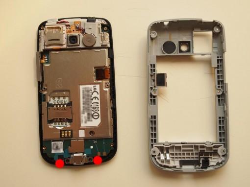LG P500 Disassembling 5