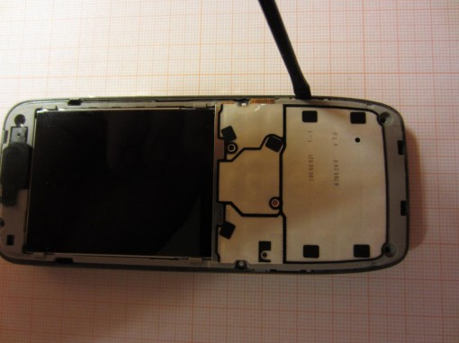Nokia E52 smontaggio