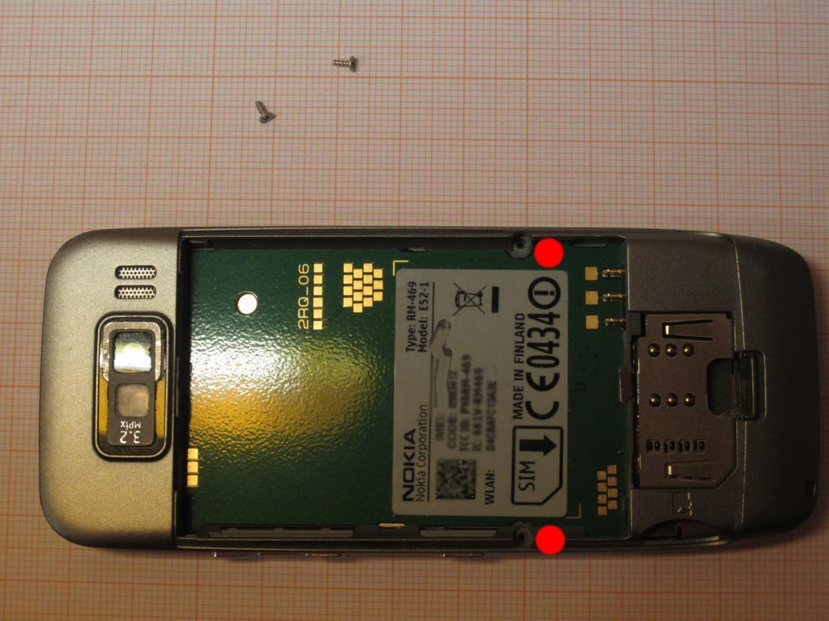 Nokia E52 Removing And Replacing The Display Speaker Mobile Short Circuit Repair Tip Disassembling Procedure