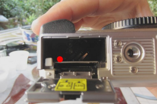 Olympus Pen e-pl1 Disassembling