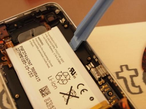 iPhone 3GS sostituzione batteria