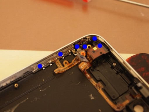 iPhone 3GS - flat cable 5