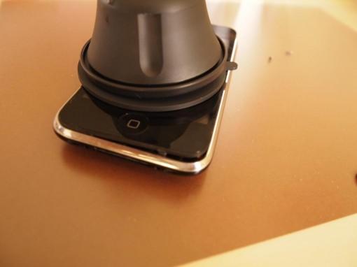 Smontaggio iPhone metodo ventosa