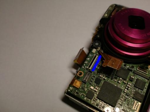 Canon Ixus 130 Rimozione Display