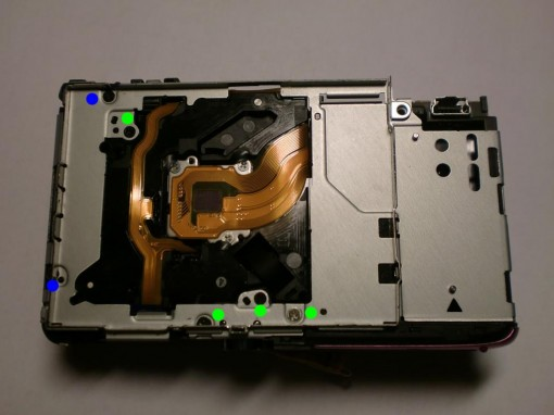 Canon Ixus 130 Lens error