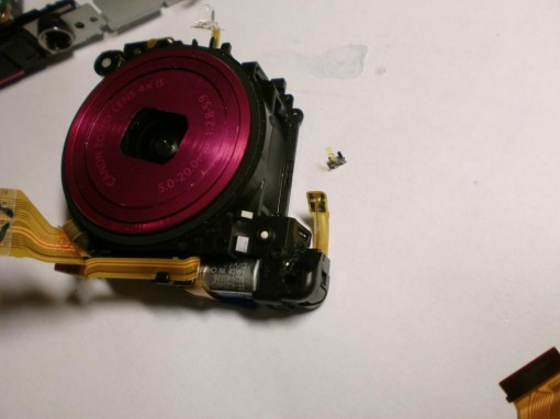 Canon IXUS 130 Sensore del motore