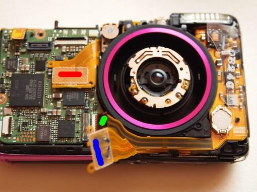 Canon ixus 130 Lens Error (flat Cable)