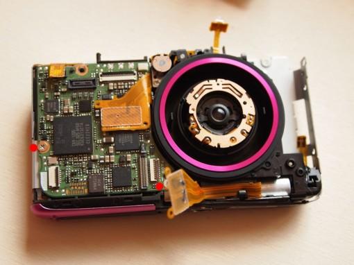 Canon Ixus 130 smontare scheda madre