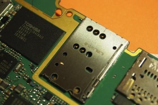 Connettore SIM Nokia N8