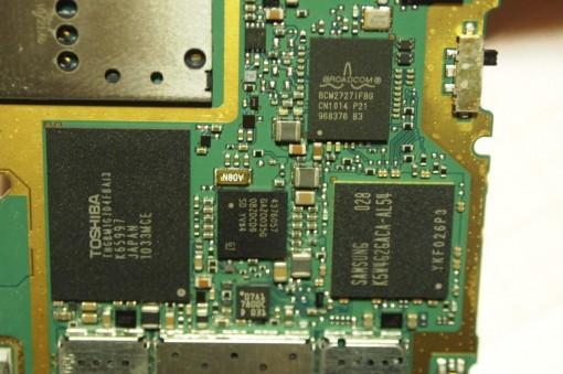 Nokia N8 CPU Scheda Madre Memoria Samsung