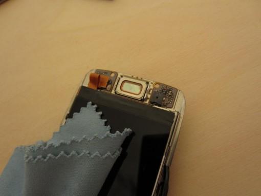 Nokia E66 Pulizia Display