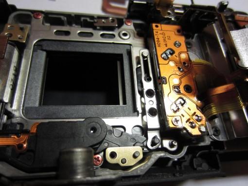 Sony NEX shutter