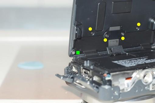 Smontare una Sony NEX - LCD - 1