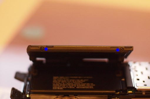 Smontare Display Sony NEX-3 /2
