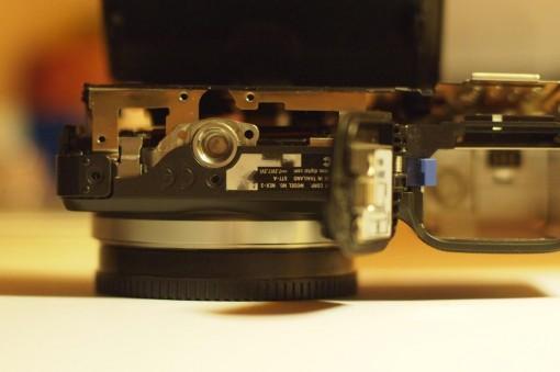 Smontare cover Posteriore Sony NEX - 2