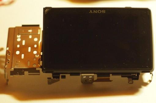Sony NEX-3 Back cover con display