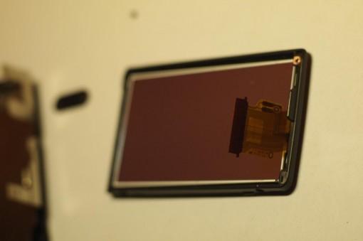 Display Sony NEX-3