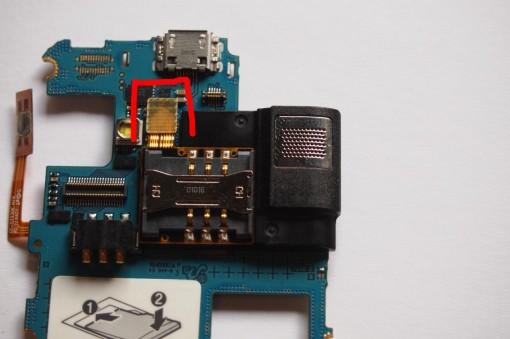 Samsung Wave Lite 3g S7230  - Connettore Lettore SIM e Speaker