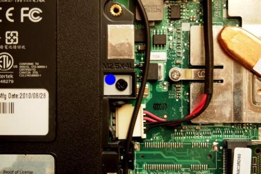 Acer 4820TG - Sostituzione DVD-RW - 1