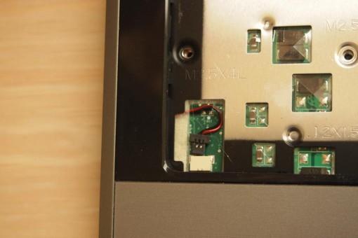 Acer 4820TG - Rimozione Cover superiore  - 4