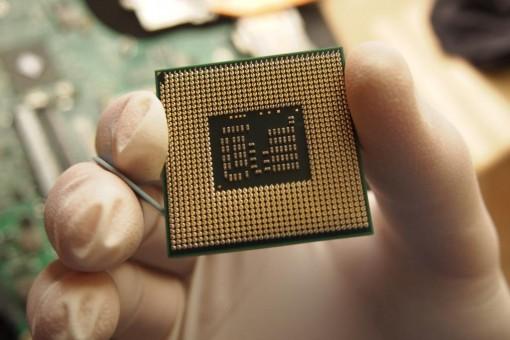 Acer 4820TG - Rimozione CPU - 4
