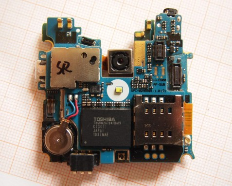LG Optimus 7 - Engine Board