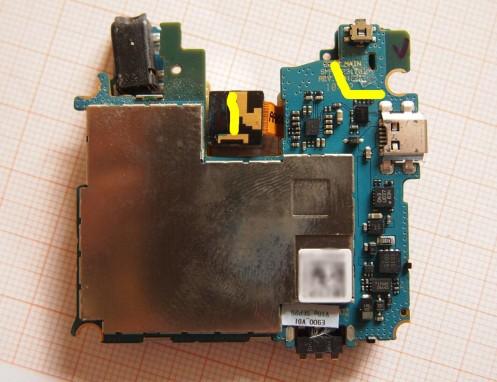LG Optimus 7 - Rimuovere Scheda Madre - 6
