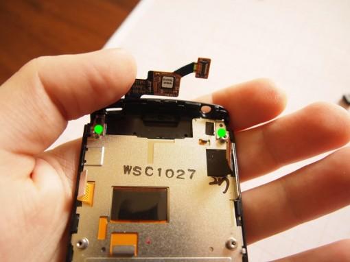 LG Optimus 7 - Rimozione gabbia metallica  - 1