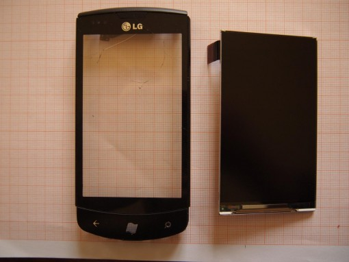 LG Optimus 7 - Smontare Display - 3