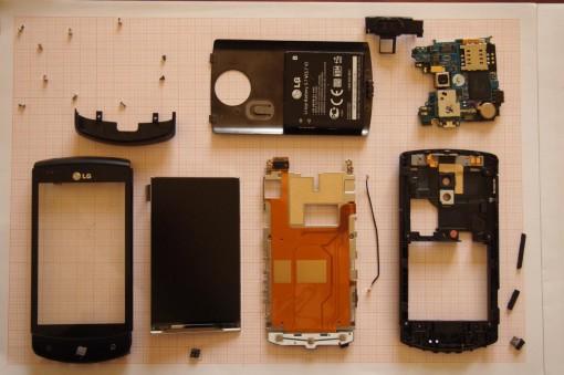 LG Optimus 7 - E900 - Parti
